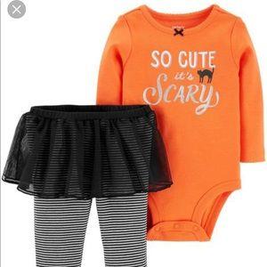 Carter's Halloween Pants Outfit